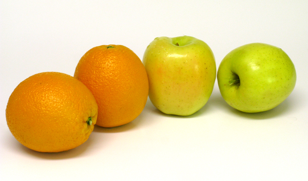 clipart apples and oranges - photo #48